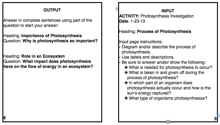 Journal entry photosynthesis and the flow of energy science 6 at fms screen shot 2013 01 22 at 101045 pm ccuart Image collections