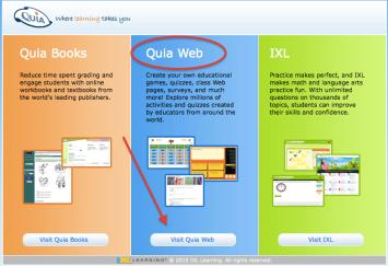 quia web