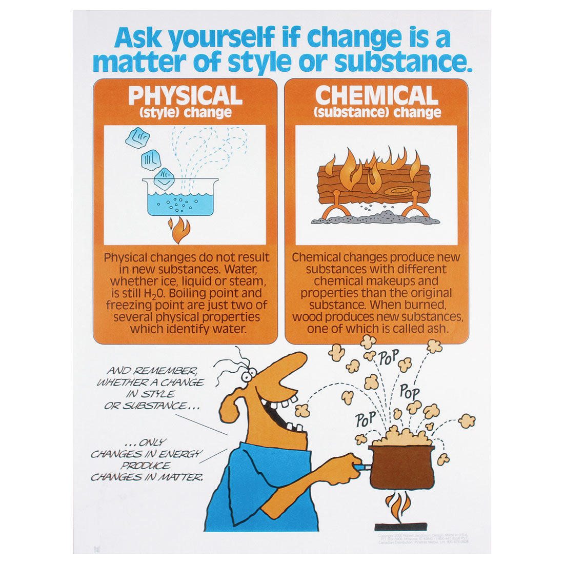 chemical vs physical change lab Chemistry 201: physical and chemical properties and changes instructions before viewing an episode, download and print the note-taking guides, worksheets, and lab data sheets for that episode, keeping the printed sheets in order by page number.